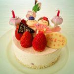 ホテル日航新潟のひな祭りケーキ その2 -新潟県新潟市中央区のホテル-
